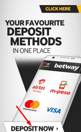 Betway deposit from app