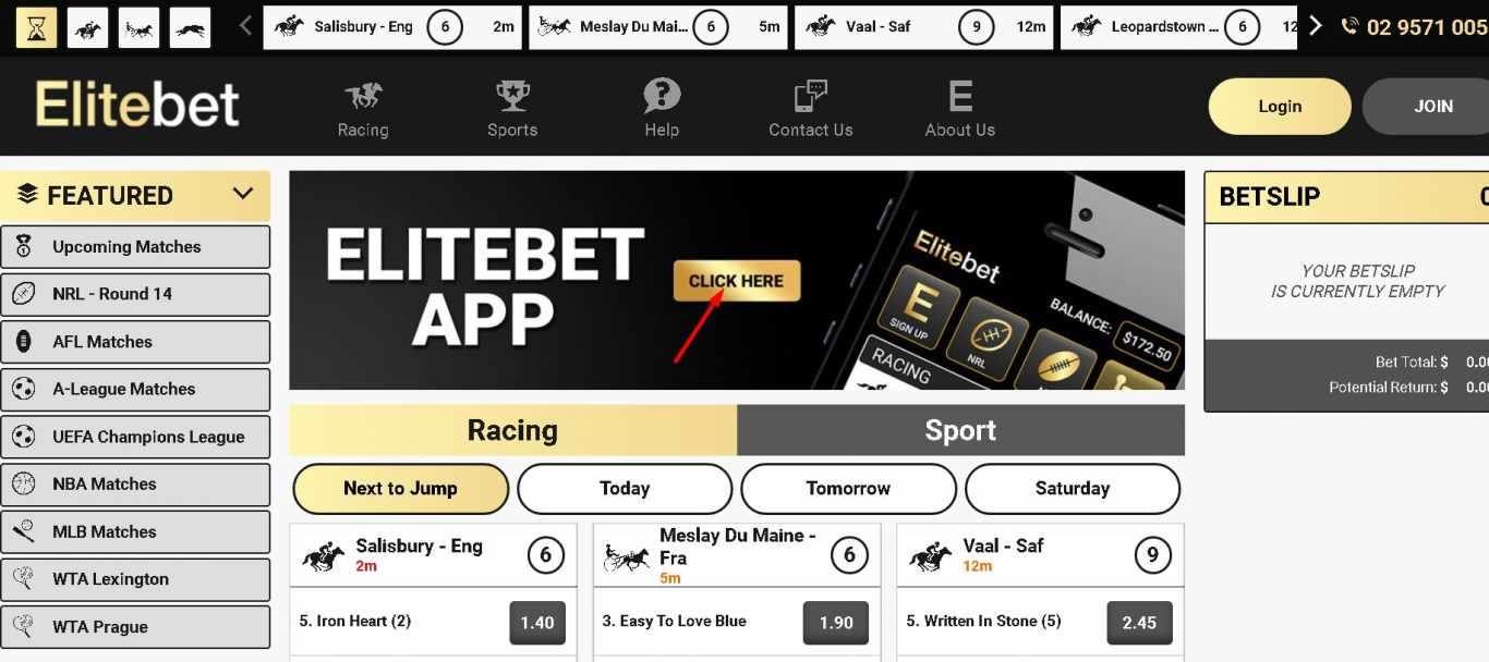 elitebet games betting lines