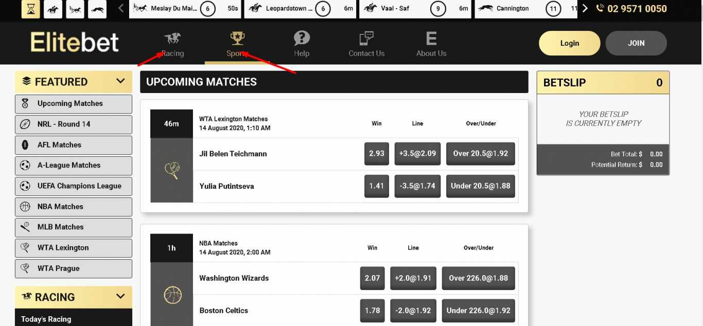 Elitebet games betting lines helgesson bettingbloggers