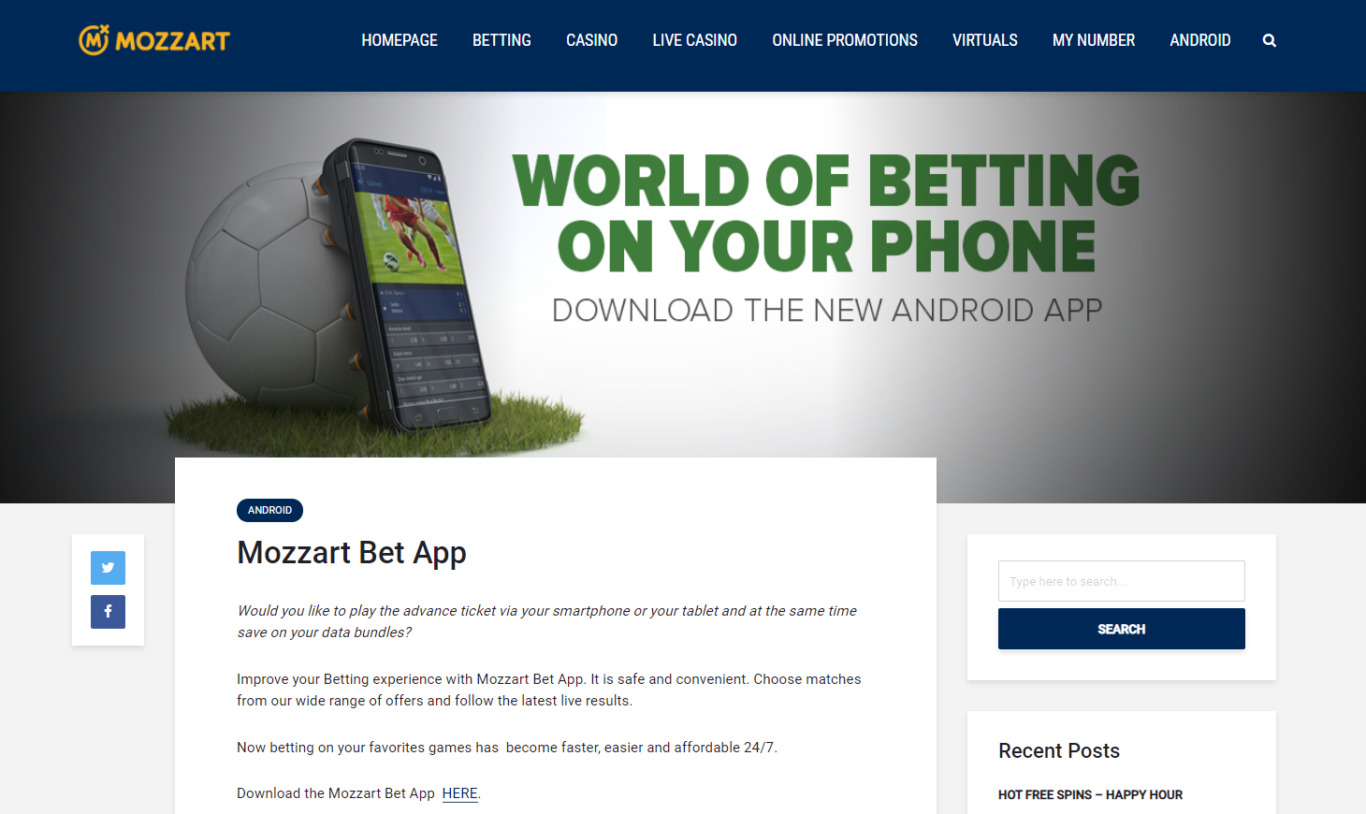 Mozzart Bet app for iOS: how to download it in a few clicks