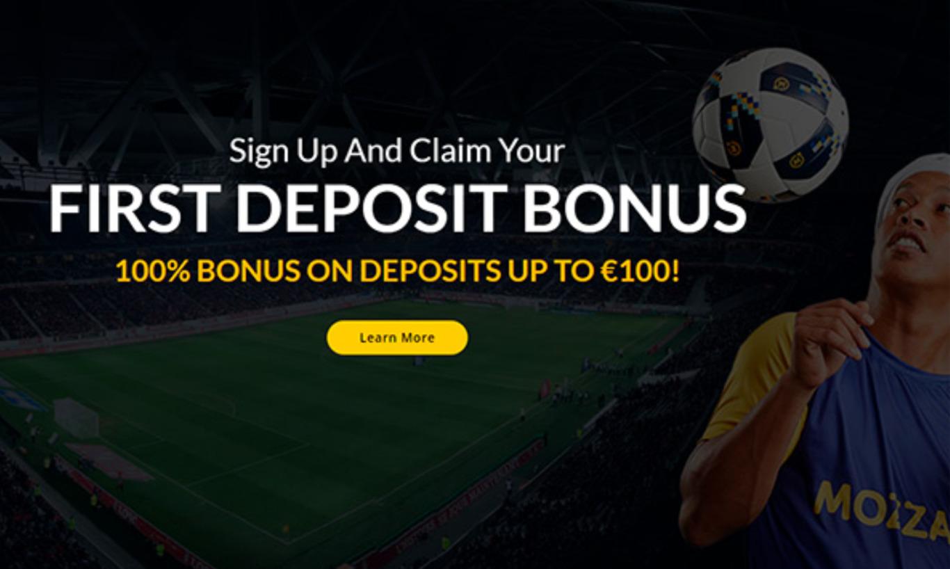 First deposit at Mozzartbet
